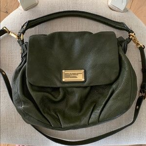 Marc Jacobs Classic Q Lil Ukita moss Leather Bag